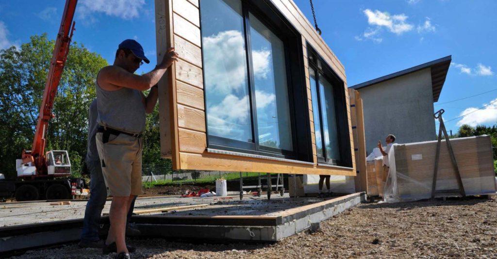 Case prefabbricate in legno a telaio